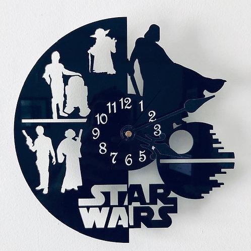 Star Wars Fandom Wall Clock