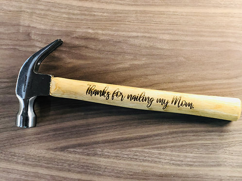 16oz Hammer with Engraving