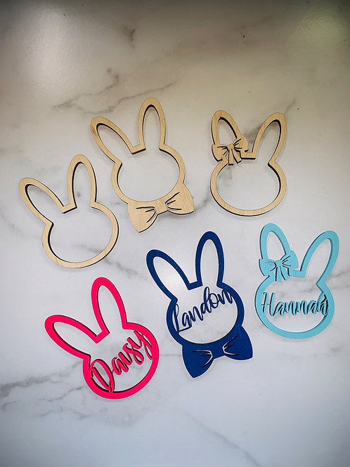 Personalized Easter Basket Name Tags
