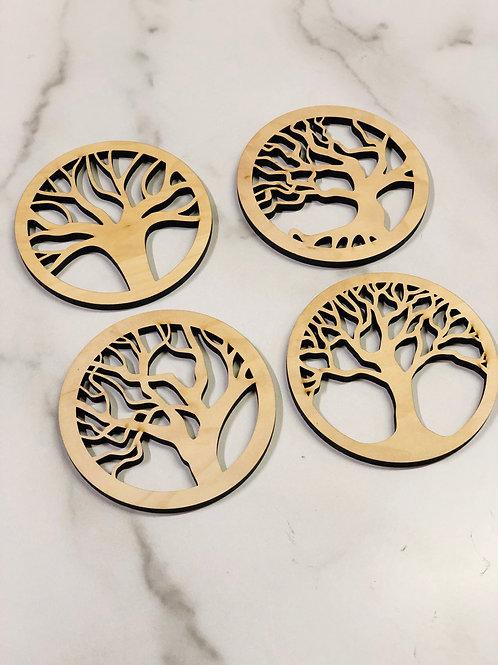 Tree of Life Coasters (set of 4)