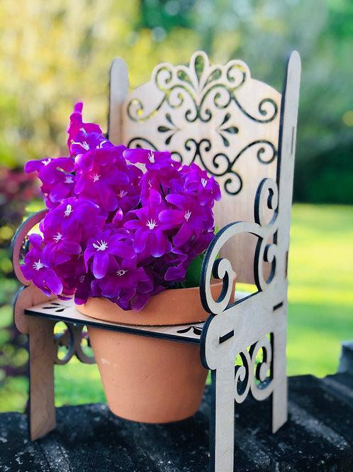 Decorative Plant Chair