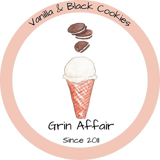 Vanilla & Black Cookies (473ml)