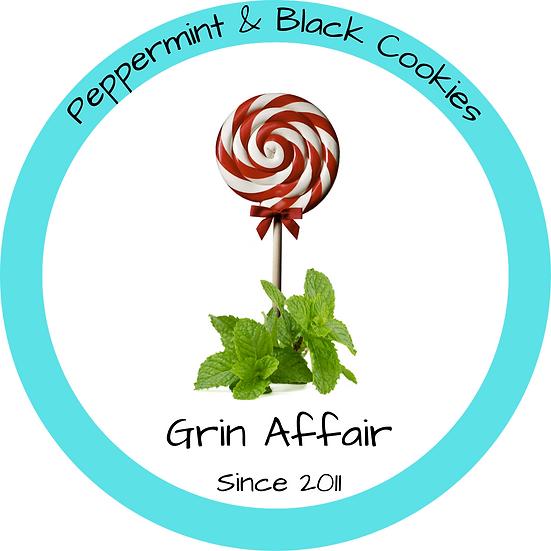 Peppermint & Black Cookies (473ml)