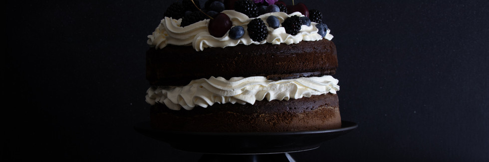 Winter Berry Cake
