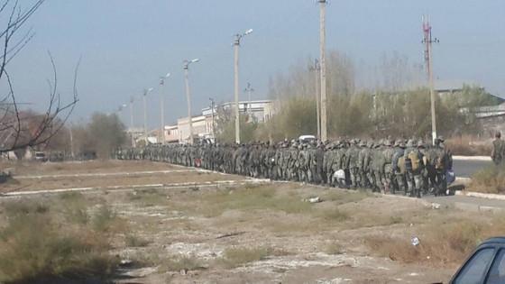 Идет подготовка Узбекских войск против Каракалпакстан