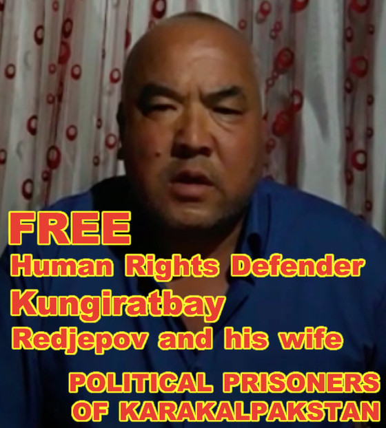 Human Rights activist Koniratbay Redjepov speaks out about their arrest by Uzbek SGB