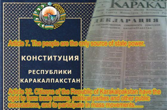 Putin refused to register the public organization of Karakalpakstan in Russia, following his boss, M