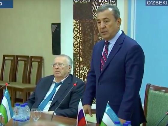 Президент Узбекистана Ш.Мирзияев не встретил В.Жириновского, чтобы скрыть от своего народа призыв Ро