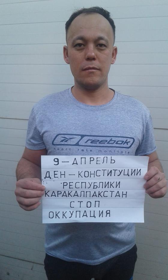 Political hunger strike in support of the prisoners of Ukraine and Karakalpakstan