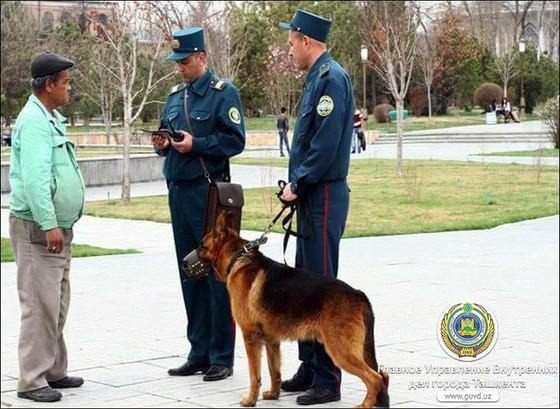 Узбекистан Становится Полицейским Государством, Создало Военизированное Оккупационное Правительство