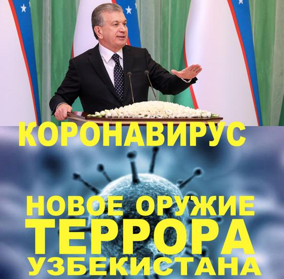 Коронавируссамое страшное оружие террора Правительства Узбекистана против мировой цивилизации!