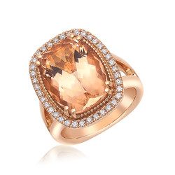 Morganite&Diamond