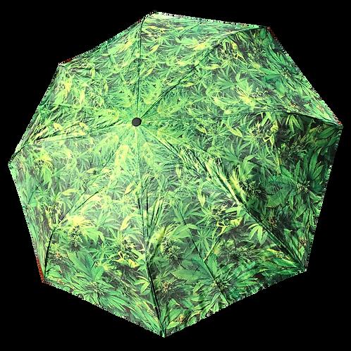 Marijuana Umbrella, Weed Folding Umbrella, Pot Umbrella