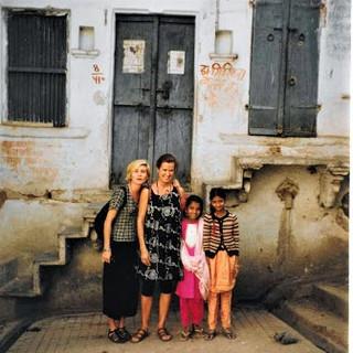 Paula and Susan Rainsford at Udaipur, In
