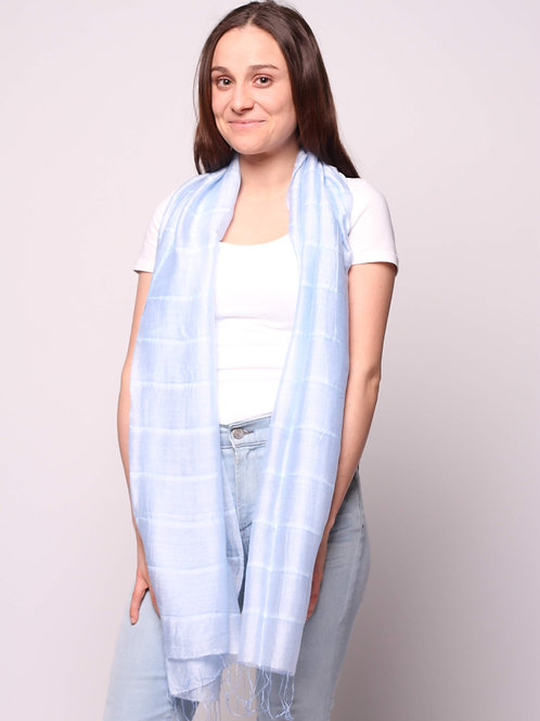 Hue Scarf in Baby Blue