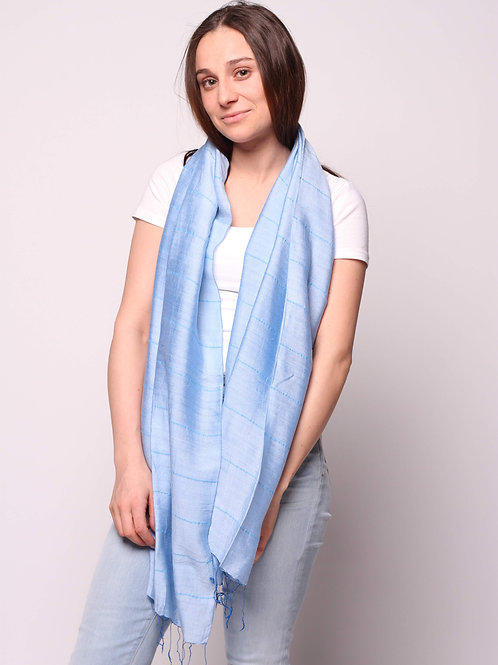 Hue Scarf in Cloud Blue