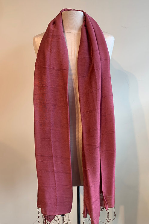 Hue Scarf in Berry
