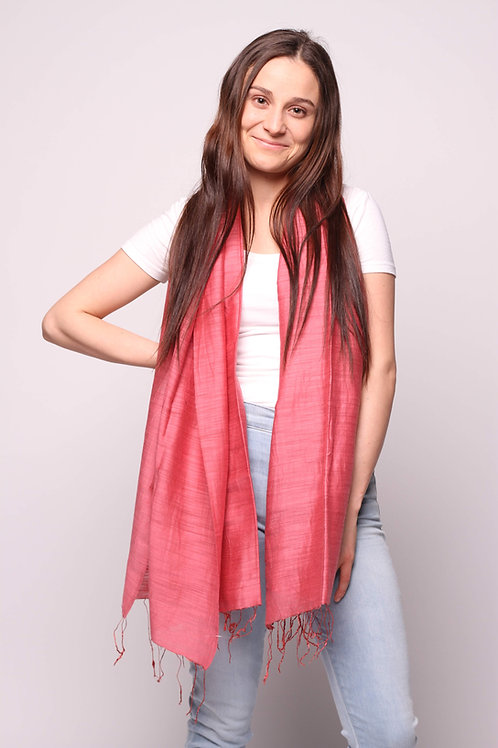 Hanoi Scarf in Red Pear
