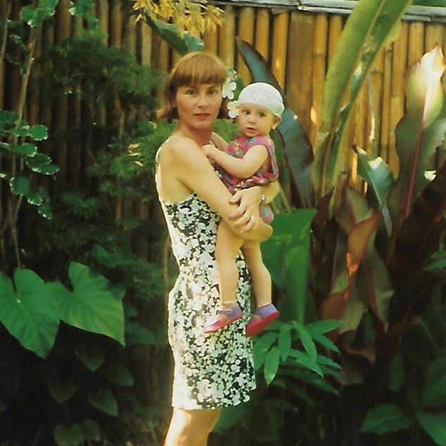 Paula and Sophie at Yokas House Bali 199