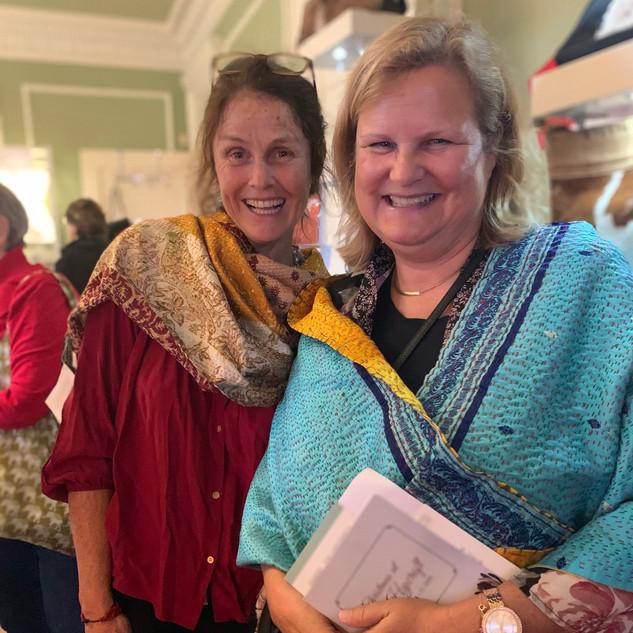 Regina and happy customer Hycroft 2019 (