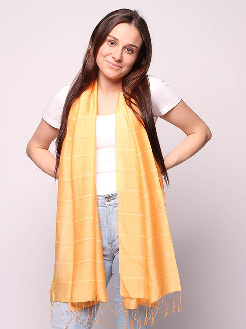 Hue Scarf in Apricot