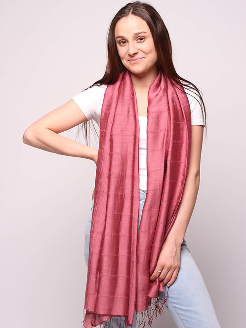 Hue Scarf in Red Pear
