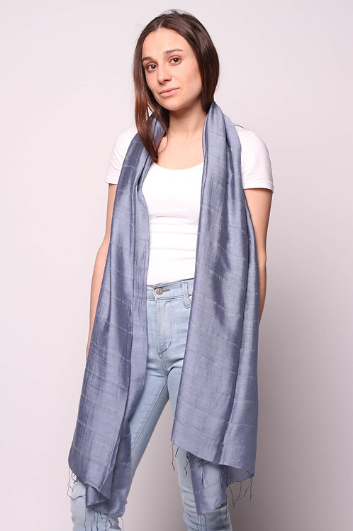 Hue Scarf in China Blue
