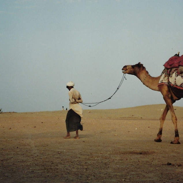 Camel Trek Jasalmer, India 1990.jpg