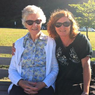 Mom and Me at Spanish Banks aug. 2013 (2