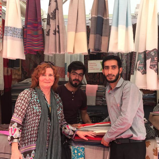 Hussain and Fayaz, New Delhi, Textile Sh