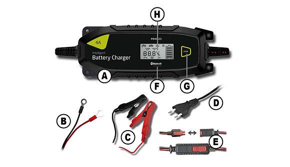 Pro-User IBC4000B 6/12/12,8V- 4A – Bluetooth Pametni punjač akumulatora
