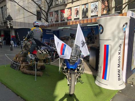 Promocija BMW Moto Kluba, Knez Mihajlova, Beograd je u toku!