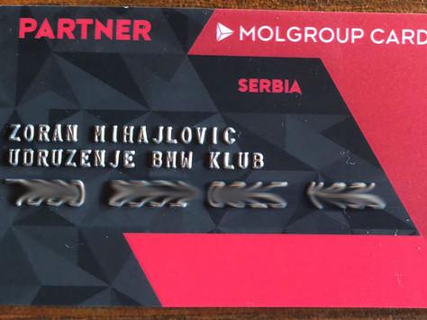 Stigle MOL Srbija kartice za članove BMW Moto Kluba Srbija!