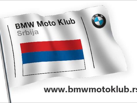 Stigle nalepnice BMW Moto Kluba Srbija