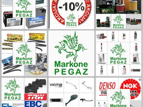 10% popusta na potrošni materijal u Markone PEGAZ-u!
