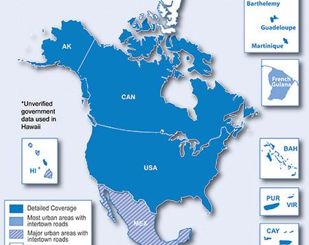 Nova verzija Garmin karte Severne Amerike - 2018.10!
