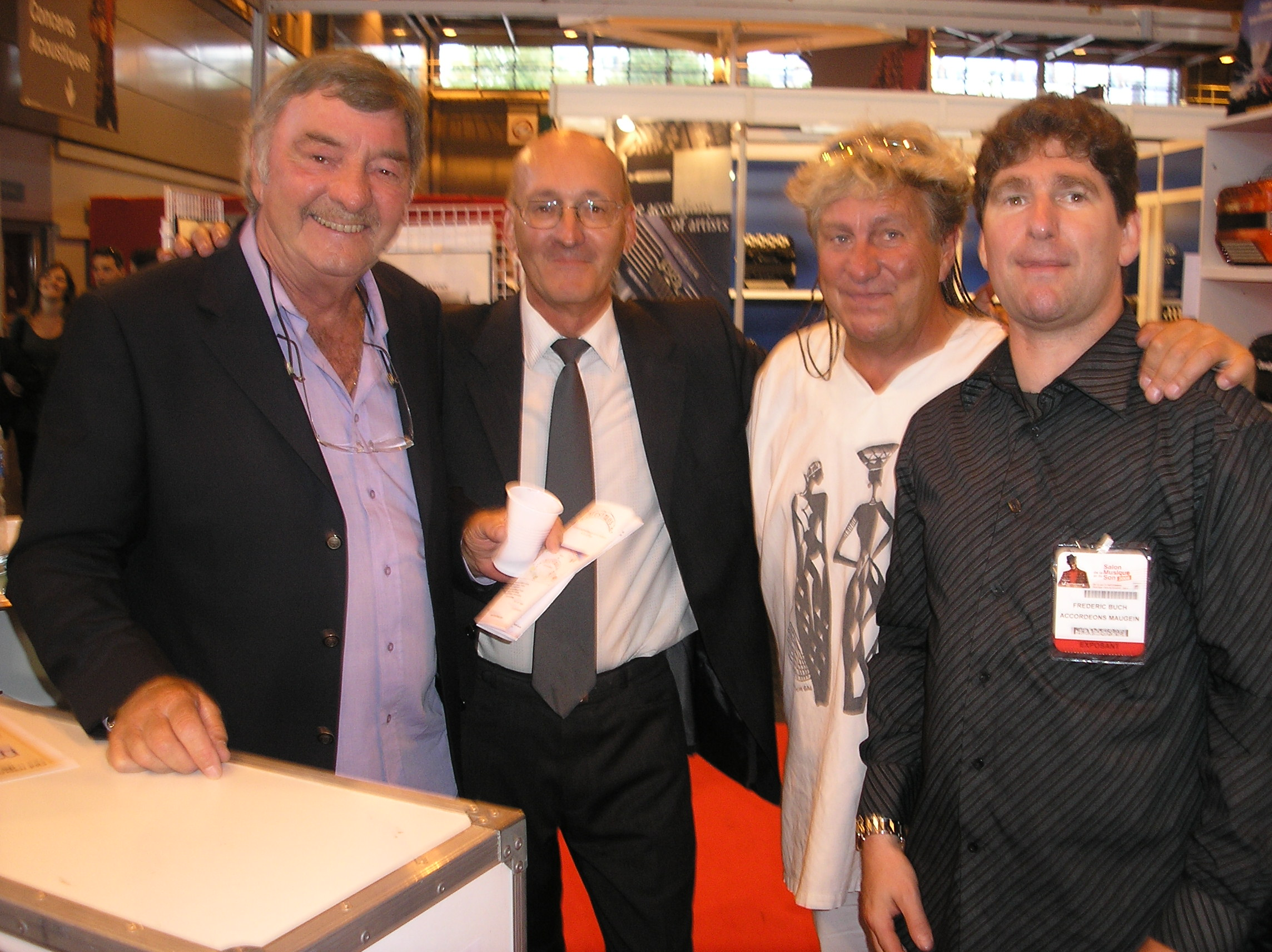Salon musique paris 08 Louis Corchia  PK JL noton fred buch