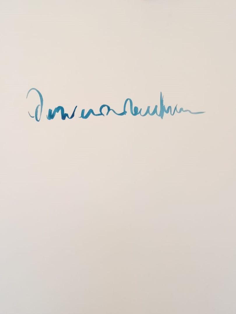 Sprache V, Aquarell auf Papier, 50 x 65,