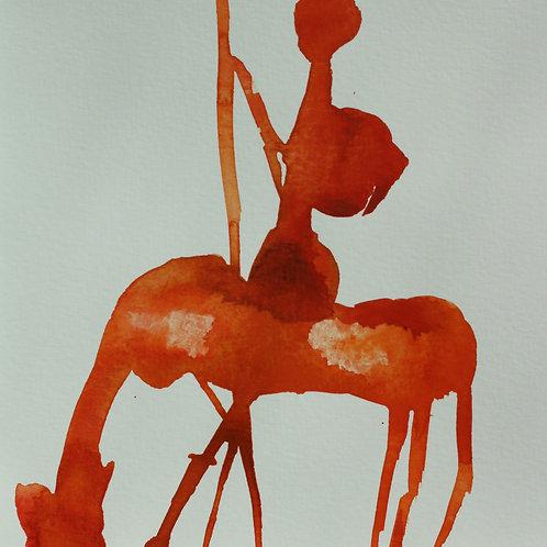 Bild , Don Quijote I, 21 x 21