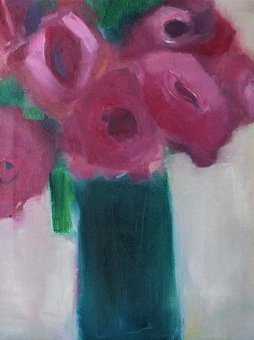 Bild, Blumen, 20 x 30