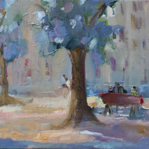 Unter Baum