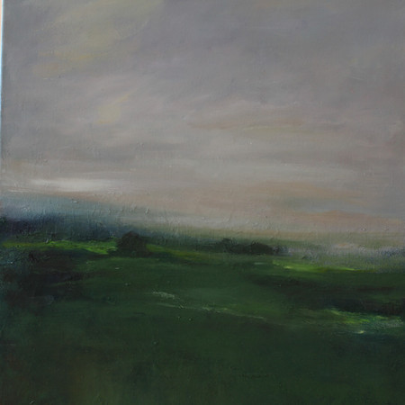 In the evening, 50 x 70, oil on canvas