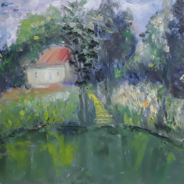 Impressionism,_20_x_30,_Öl_auf_Papier,_