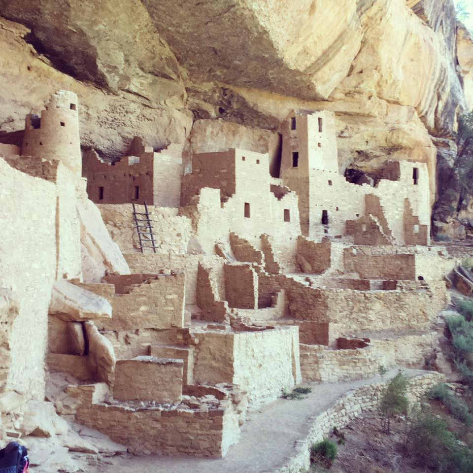 The Cliff Dwellings at Mesa Verde National Park in Mancos, Colorado