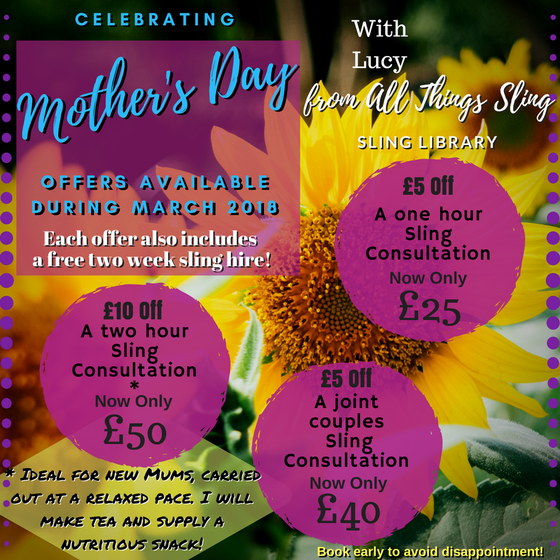 Mothers Day Offers during March