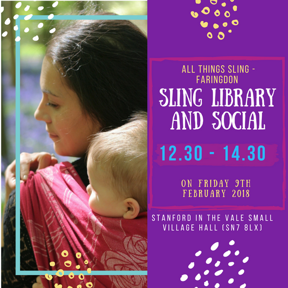 Sling Library and Social This Friday!