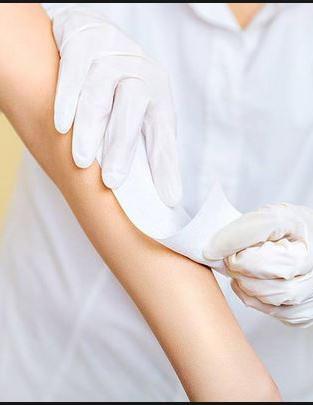 Waxing Forearms