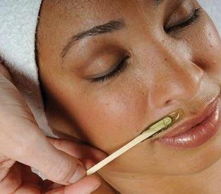 Waxing Upper Lip