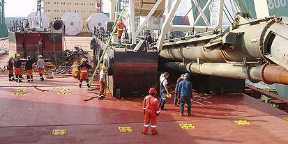 Logship Agence maritime projet, conventionnel, Rouen, oil and gas France, vers l'Afrique de l'Ouest