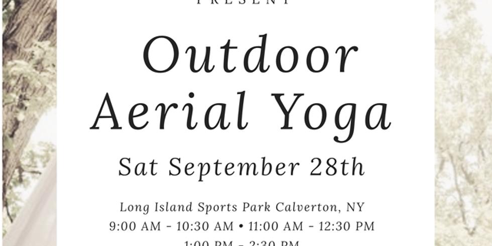 Outdoor Aerial Yoga